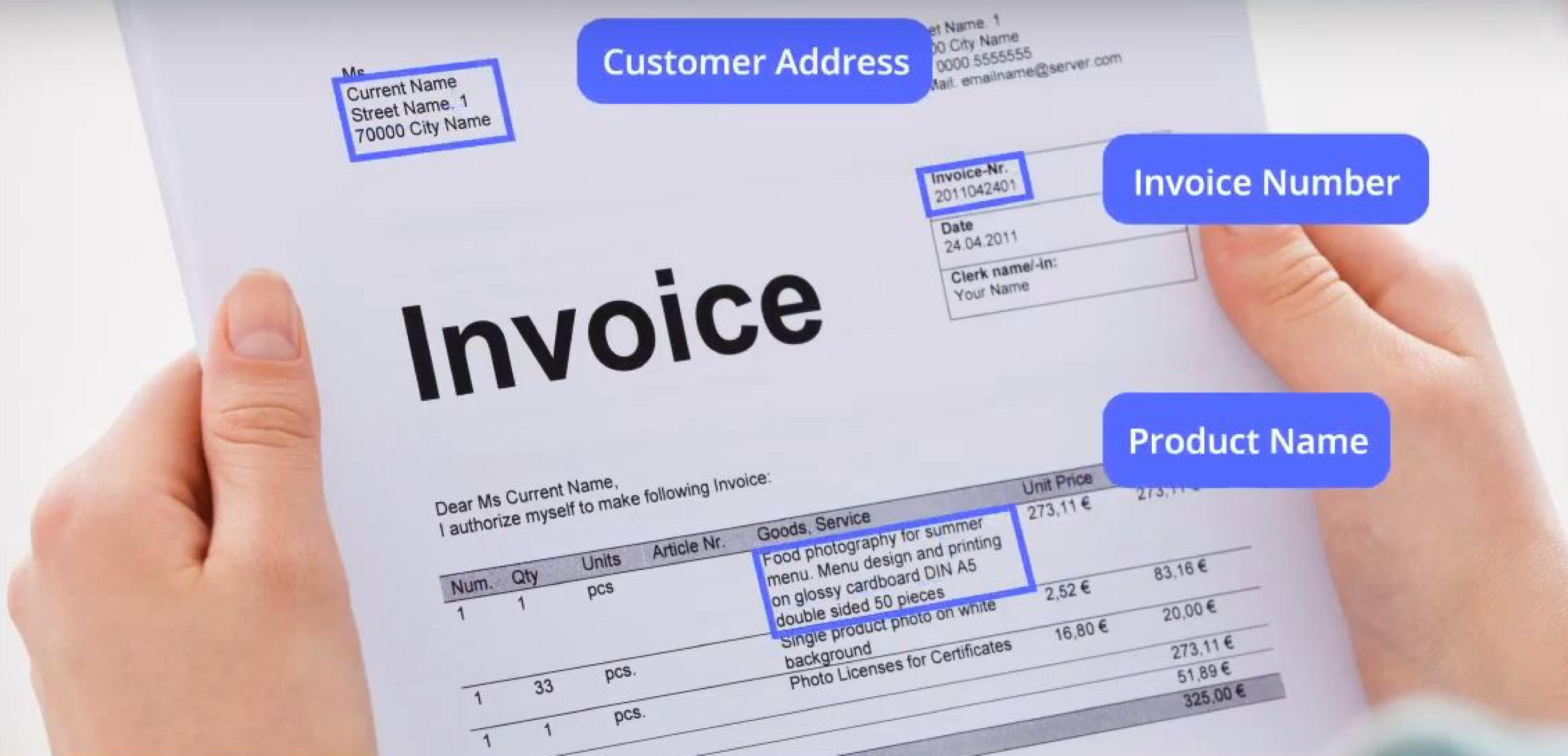 pervasive technologies ICR id document extraction